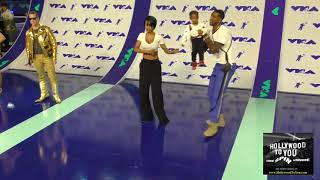 Teyana Taylor at the 2017 MTV Video Music Awards at The Forum in Los Angeles