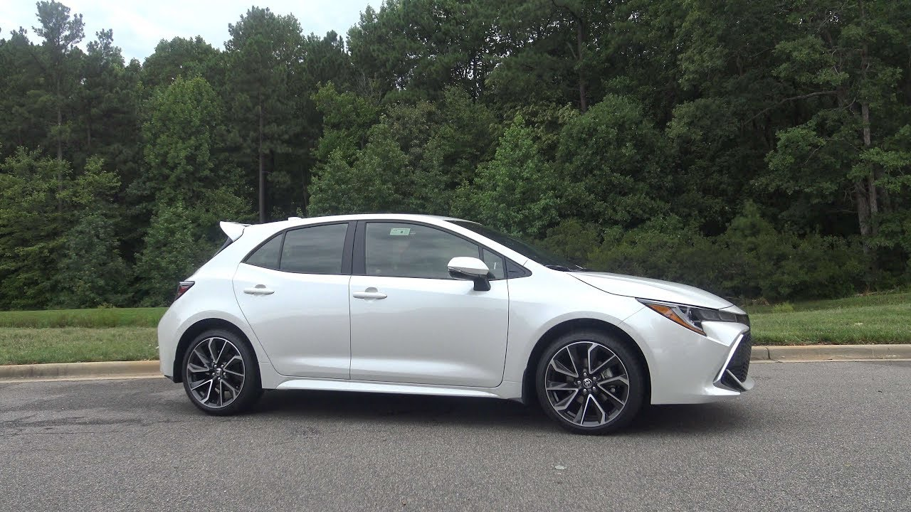 2019 Corolla Hatchback Xse Six Speed Manual Review Part 1