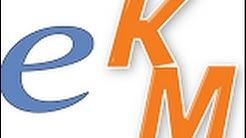 eKM Familiarization: Welcome Page