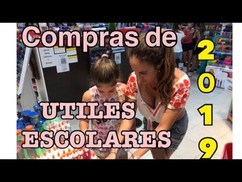 COMPRANDO UTILES ESCOLARES 2019 ( PENSEL )  - HAUL DE UTILES ESCOLARES - SORTEO