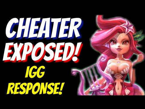 Cheater Exposed! IGG Response - Lords Mobile