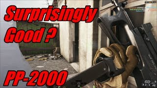BF4 - PP-2000 A good weapon that nobody uses !
