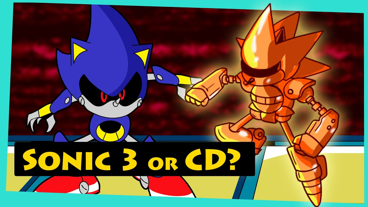 SONIC 3 after Sonic CD?