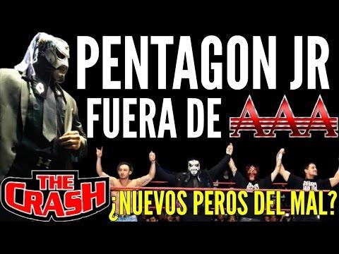 PENTAGON JR FUERA DE AAA, ¿NUEVOS PERROS DEL MAL EN THE CRASH?
