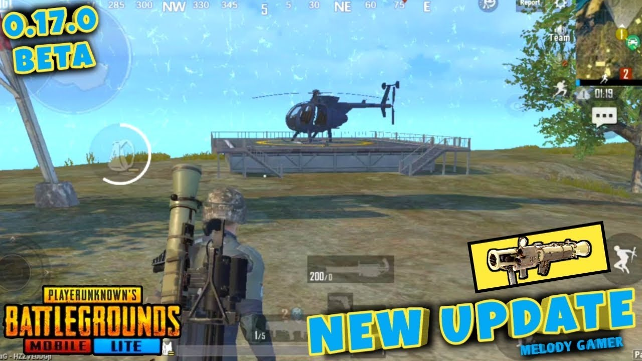 PUBG MOBILE LITE NEW 0.17.0 UPDATE LIVE     NEW SPAWN ISLAND -  HELICOPTER - BRDM - NEW GUNS