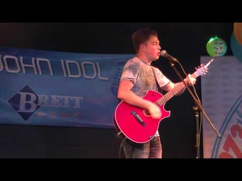 Kyle McVea singing 'Cake By The Ocean' by DNCE to open week 2 of Saint John Idol 2016