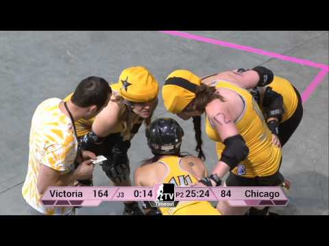 Victorian Roller Derby League v The Chicago Outfit: 2013 WFTDA D1 Playoffs in Salem