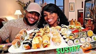 Sushi Mukbang with Nate