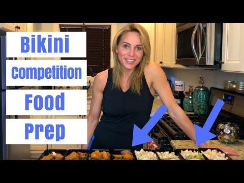 IFBB Pro Bikini Competition Food Prep - Mindi Smith