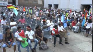Assenna Video: Bologna Eritrean Justice Seekers Demo in Short - Day 2 - Saturday, July 5, 2014