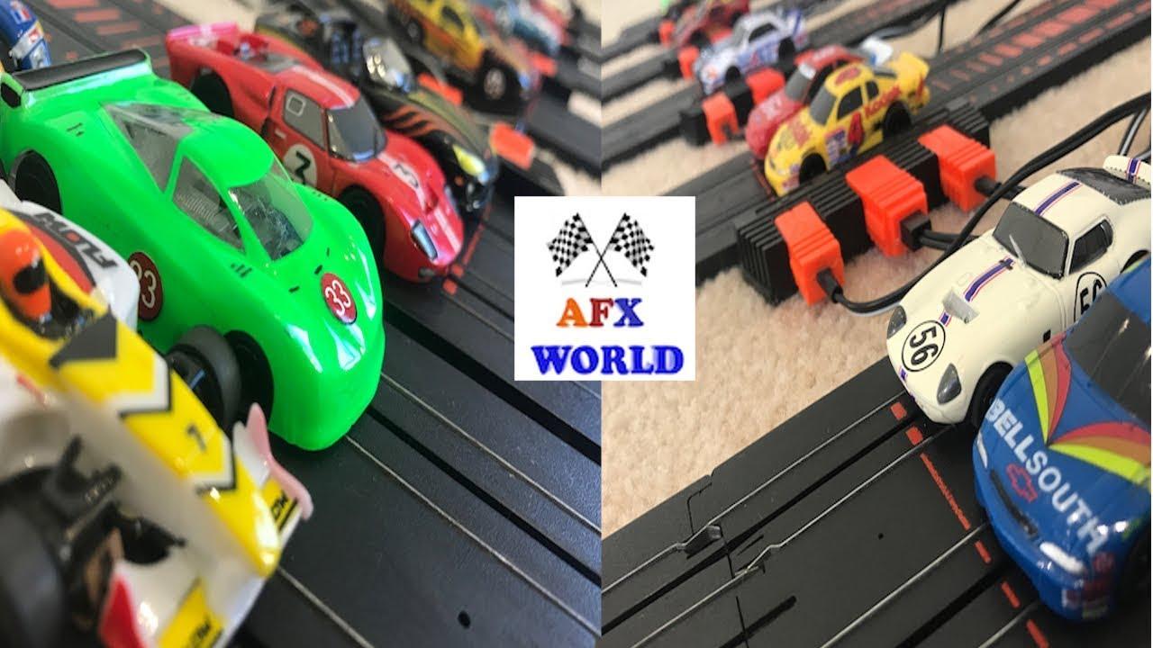 SLOT CAR DRAG RACING - EPIC DRAG RACE - AFX SLOT CAR - HOT WHEELS - AFX  WORLD - EPISODE THIRTEEN SE3