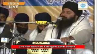 Gurdwara Fatehgarh Sahib , Sirhind Sant Baba Baljeet Singh Ji Daduwal