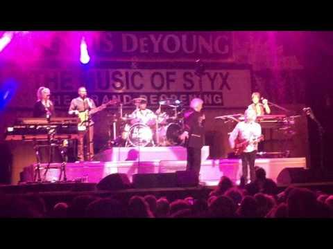 styx dennis deyoung full set live at penn's peak in jim thorpe, pa 3.11.17