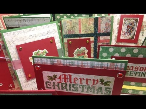 BeDazzled Christmas Cards and the MANY USES OF DOUBLE SIDED TAPE