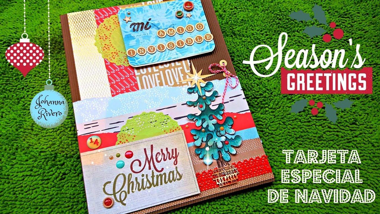 como hacer tarjeta navidad especial foto con sorpresa with hacer tarjeta navidea con foto