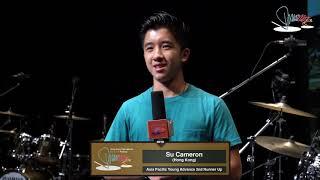 亞太區鼓手比賽  Asia Pacific Drummer Competition 【2018 2nd Runner up -Cameron Su (Hong Kong)】
