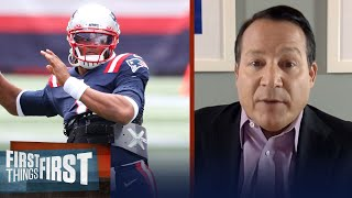Patriots absolutely made the right decision with Cam Newton - Mangini | NFL | FIRST THINGS FIRST