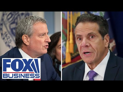 Cuomo, de Blasio have mixed feelings about exodus of New York's wealthy residents