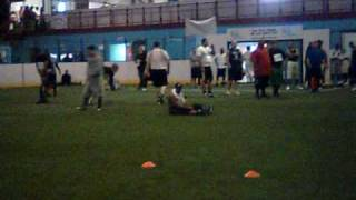 Canadian Football League Tryout