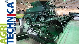 AGRITECHNICA 2017 - Messerundgang Teil 2 [New Holland, Deutz-Fahr, Fendt]