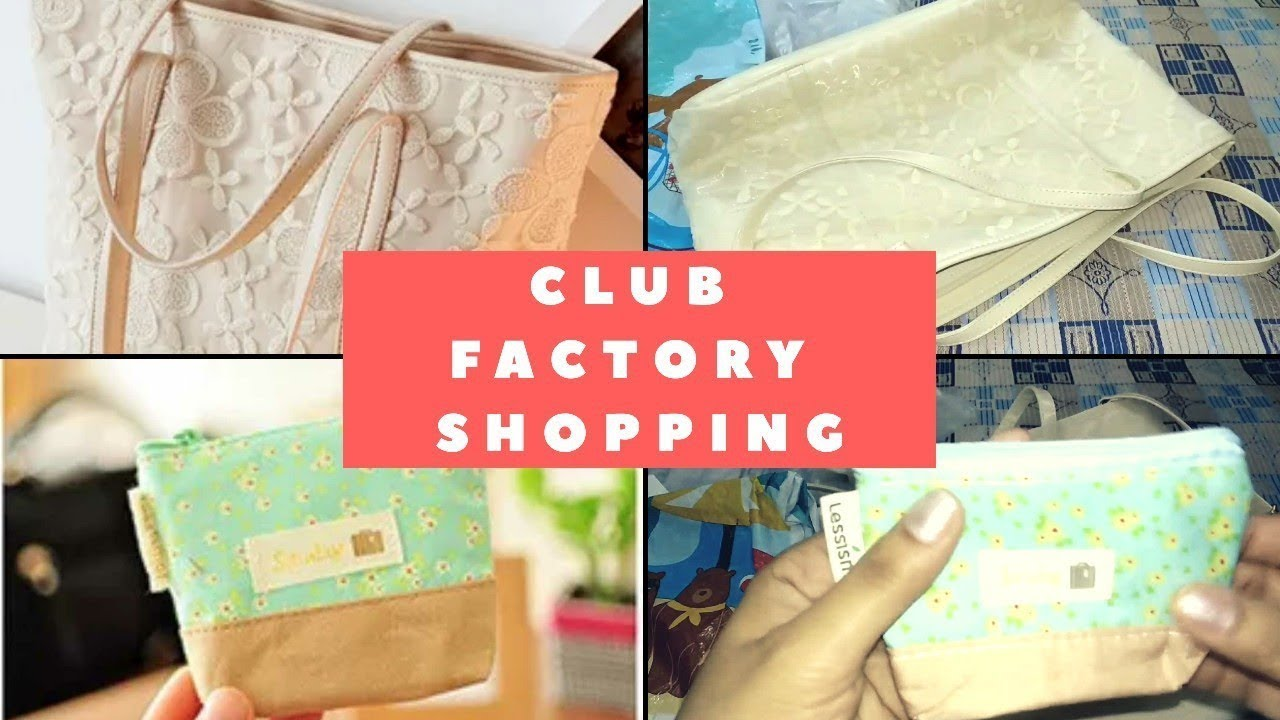 543e3d1ca3 Club factory | Bags | Worth or Waste | Review - YouTube
