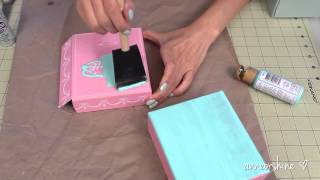 Diy Fashion  How To Make A Jewelry Box Clutch   Great Gift Idea  2013
