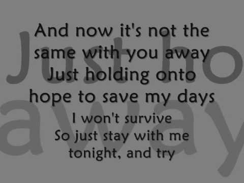 Fall Back Into My Life Lyrics - Amber Pacific