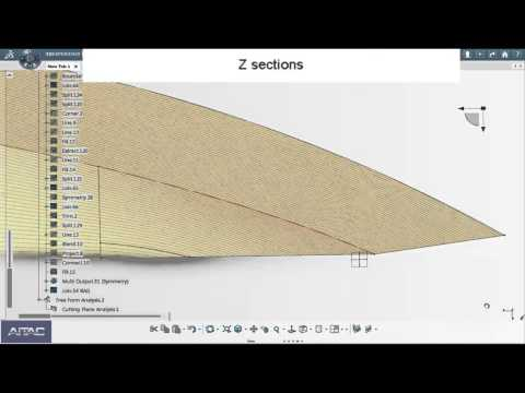 3DEXPERIENCE (CATIA V6) demo of surface hull surface design process