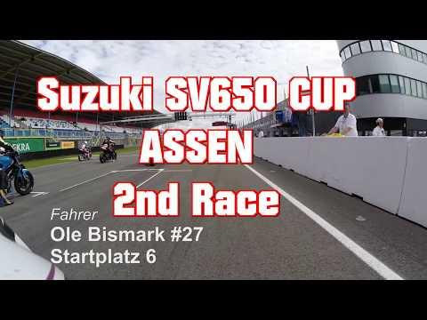 SUZUKI SV650 CUP 2017 - ASSEN - Fast Highside