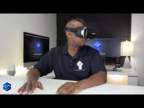 NSInew Virtual Reality Headset With Bluetooth Gaming Remote Under $35