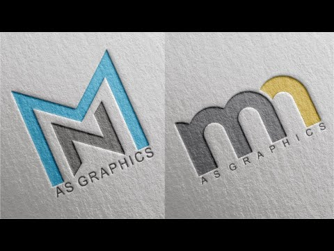 CorelDraw x7 Tutorial MN or NM Logo Design thumbnail