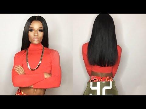 HJ Weave Beauty ( AliExpress ) Brazilian Virgin Hair Straight Hair Review