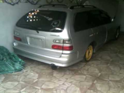 2000 toyota corolla g touring wagon - youtube