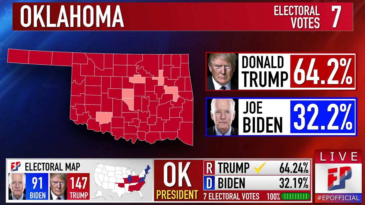 Oklahoma Prediction   2020 Presidential Election
