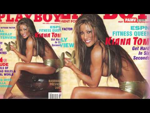 Gorgeous Kiana Tom on playboy magazine cover page from YouTube · Duration:  54 seconds