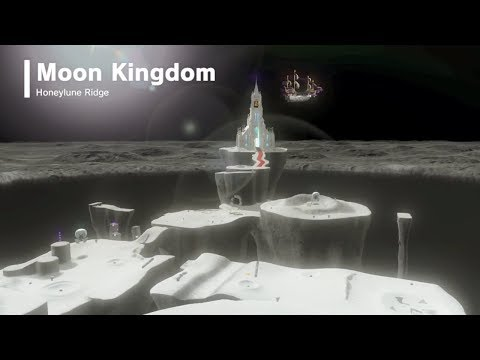 Super Mario Odyssey | Moon Kingdom - All Power Moons & Star