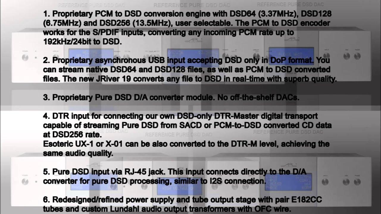 APL Hi-Fi --- DSD-M---
