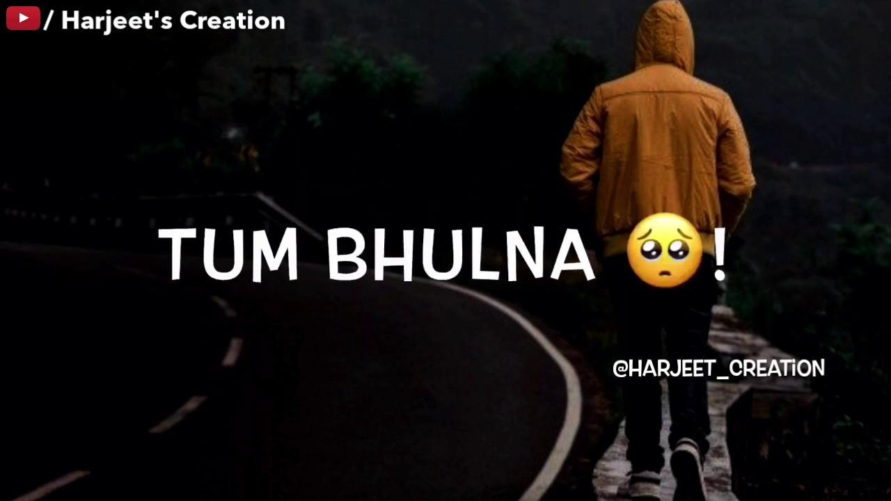 very sad WhatsApp status video 😥😥 sad song hindi 😥 new ...