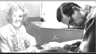 Bill Evans and Marian McPartland