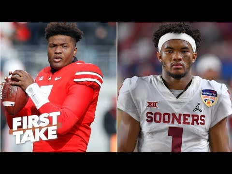 Dwayne Haskins or Kyler Murray? Who will be taken higher in the 2019 NFL draft? | First Take