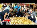 - $1000 WORLDS LARGEST PIZZA EATING CHALLENGE W/2HYPE!