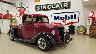 1936 Ford Truck Hot Rod Custom Flat Head