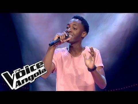 """Leandro """"L'Vincy"""" Vicente - """"Cupido"""" / The Voice Angola 2015: Audição Cega"""