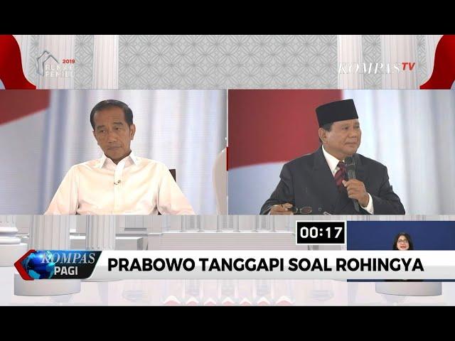 Prabowo: Kita Perlu Yakinkan Myanmar untuk Hentikan Perlakuan Tak Adil pada Rohingya