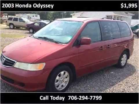 2003 Honda Odyssey Used Cars Augusta GA