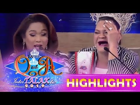 It's Showtime Miss Q and A: Juliana feels threatened by judge KaladKaren