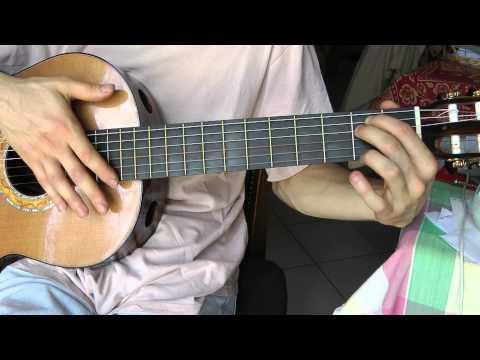 Cours de guitare - Edith Piaf : La foule (1/3) Motif instrumental