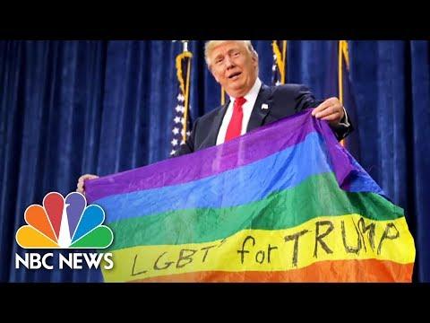 Donald Trump's Trans Military Ban Walks Back Promises To LGBTQ Community | NBC News