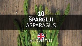 Šparglji - zasaditev brez prekopavanja, nega in obtrgovanje - Vrt Obilja EP10