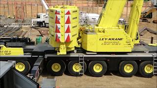 Video Mobile Crane Liebherr LTM 1450 8.1 Crane assembly Wilbert WT  420 e.tronic download MP3, 3GP, MP4, WEBM, AVI, FLV Agustus 2018